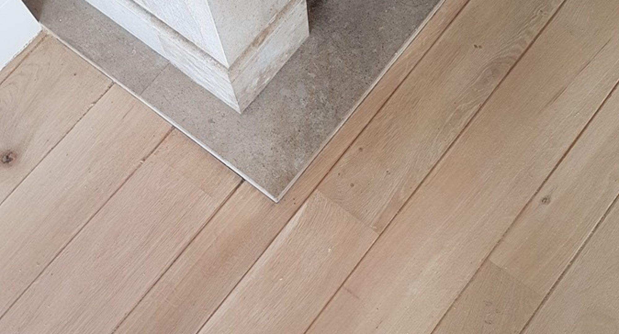 Houten vloer schuren prijs v.a u20ac745 incl naturel of whitewash
