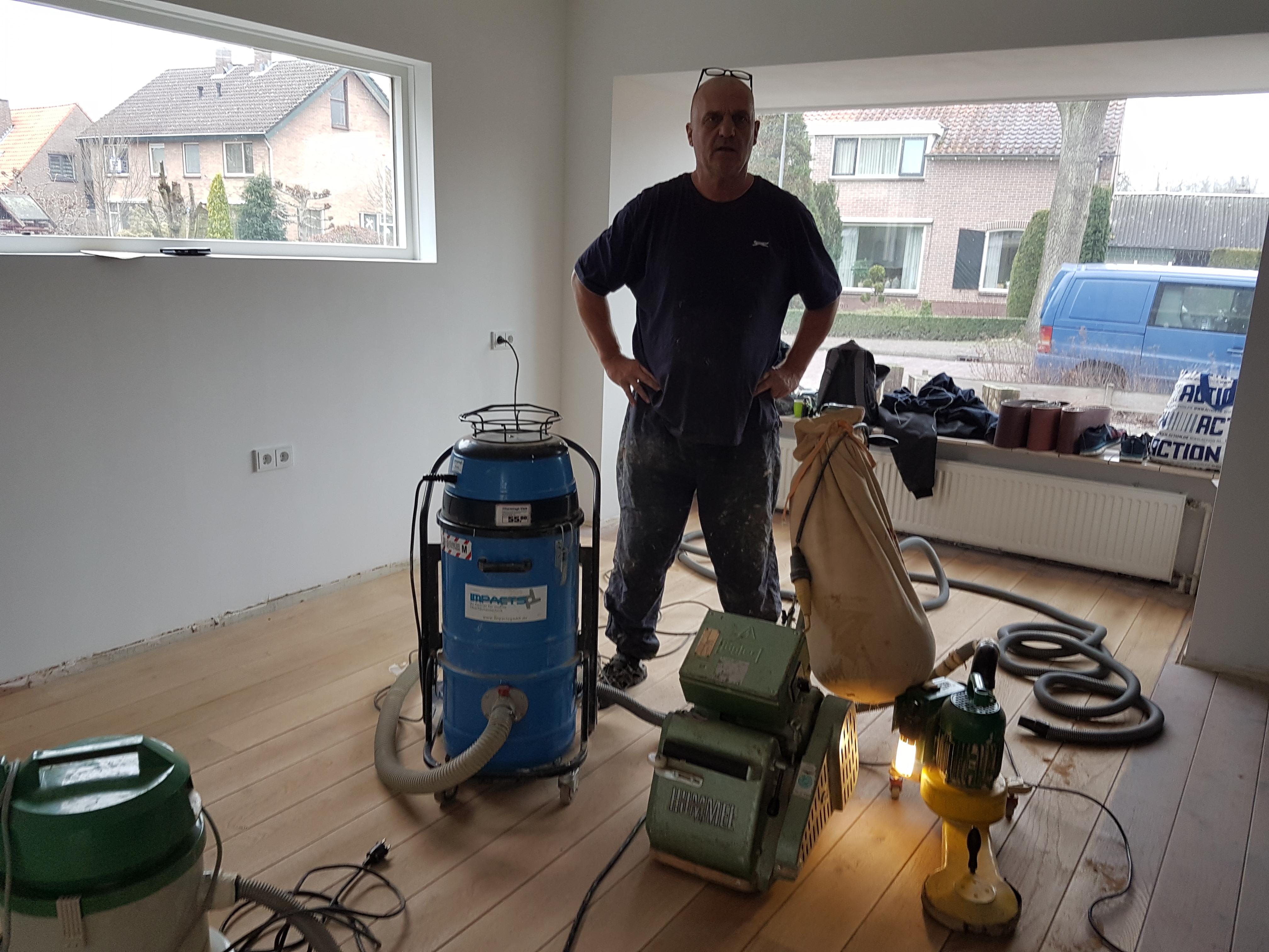 Parket schuren voor lage prijs houten vloer schuren